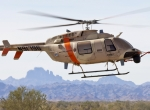 Northrop Grumman's Fire-X unmanned helicopter program, using the Bell 407, is