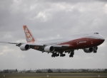 "Boeing's new 747-8 Intercontinental says, ""Bonjour,"" to the City of Light as ..."