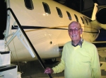 "Les Pingel, 89, has ""a job for life"" according to Tag CEO Mansour Ojjeh. Ping..."