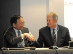 Boeing Commerical Airplanes CEO Jim Albaugh joined Mitsubishi Aircraft presid...