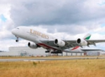Emirates flies an Airbus A380 between Dubai and Toronto three days a week. Ho...