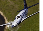 The Piper Meridian turboprop single received approval for unpaved runway oper