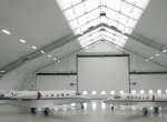 Cambridge Airport hangar