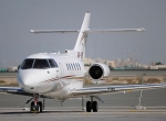 Hawker Beechcraft  850XPs, at the Dubai Air Show