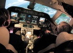 Replicating previous disasters in the safety of a simulator–under the right conditions–could help prevent accidents. (Photo: FlightSafety International)