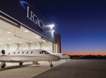 The new Legacy Jet Center at Tulsa International can house aircraft as big as th