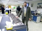 787 battery examined in NTSB Materials Lab