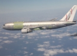 The Boeing 767 multi-mission tanker transport (MMTT) conversion refuels a Col...