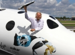 Virgin Galactic founder and CEO Sir Richard Branson