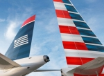 US Airways and American Airlines wings