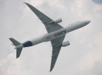 A350 Flying at Singapore Airshow