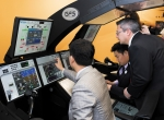 Flight Safety International flight-deck simulators