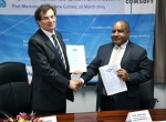 ATM modernization contract signing in Port Moresby