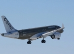 CSeries 100 flying