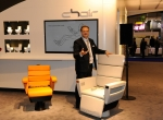 Oliver Thomaschewski, Project Manager A/C Interior VIP & Executive Jet Solutions, introduces a new innovation in VIP seating.