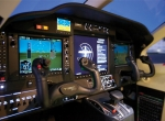 The TBM 900's cockpit includes several enhanced human-machine interface features–an ergonomic control yoke and redesigned cockpit center pedestal that incorporates single-lever power control. The upgraded turboprop single retains the Garmin G1000 avionics suite installed in its predecessor TBM 850.