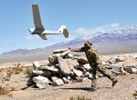 The AeroVironment Puma air vehicle is hand launched, weighs 13 pounds (5.9 kg) and has a wingspan of 9.2 feet (2.8 meters). The aircraft's military acceptance cleared the way for limited approval for commercial ops in the Arctic.