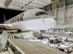 First Qatar Airways A350-900