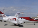 HondaJet at EBACE static display