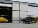 Chicago Vertiport hangar and ramp