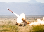 Patriot missile firing