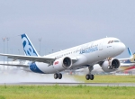 A320neo taking off