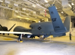 RQ-4 Global Hawk at Grand Forks Air Force Base