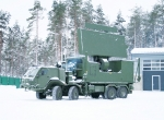 The Ground Master 400 system in mobile configuration, shown here with its antenna deployed. This one is in service in Estonia.