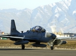 A-29 Super Tucano touches down in Afghanistan