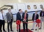 Learjet 75 delivery ceremony