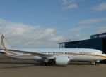 Boeing 787 at Associated Air Center
