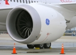 GEnx-1B engine on Boeing 787