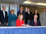 U.S. Air Force, Grand Forks County, N.D., sign agreement