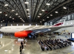 maintenance hangar in Indianapolis, allowing it to accommodate widebody aircraft like the Airbus A330.
