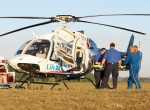 patient transport by helicopter