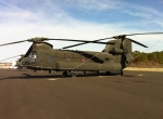 Boeing CH-47D Chinook helicopter
