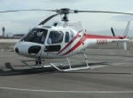 Honeywell's AS350 test helicopter