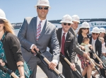 Meridian broke ground in July on its FBO and hangar facility at Hayward Executive Airport.