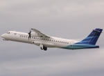 "Garuda Indonesia now flies ATR 72-600s under its new ""Explore"" banner."