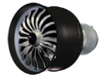 CFM LEAP X engine.
