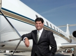 Paras Dhamecha, executive director at Empire Aviation with a Challenger 300 managed by AEG in Bangalore.