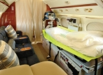 Royal Jet operates two dedicated medevac-equipped jets, a Gulfstream G300 and Bombardier Learjet 60.