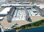 An artist's concept shows the future configuration of Boeing's narrowbody plant in Renton, Washington, where plans call for creating a third line meant to ease the full transition to 737 Max production by 2019.