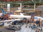 Final assembly of the 787-9 started on May 30 on the 787 surge line at Boeing's widebody plant in Everett, Washington.