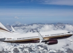 Boeing Business Jet with newly certified API Split Scimitar Winglets