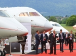 The EBACE static display area