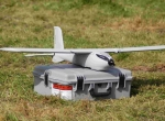 The upgraded Lockheed Martin Desert Hawk mini-UAV has an improved video senso...