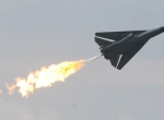 """Now committed to the history books, the F-111 demonstrates its trademark """"dum..."""