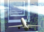 RNP-capable aircraft can fly approaches within a tight, linear containment ar...