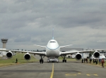 Boeing ferried its new Boeing 747-8 Freighter all the way from its home in Se...
